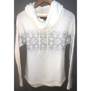 EUC - Eddie Bauer Cowl Neck Sweater, size S